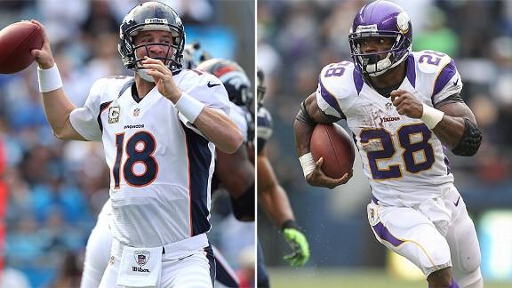 Adrian Peterson & Peyton Manning
