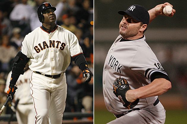 Barry Bonds & Roger Clemens