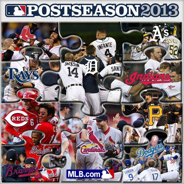 2013 MLB Playoff Puzzle