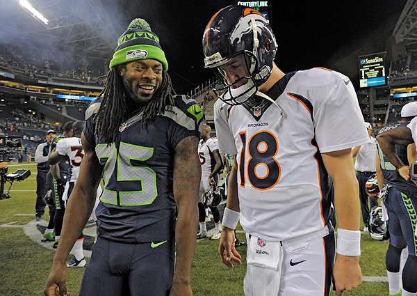 Peyton Manning Richard Sherman