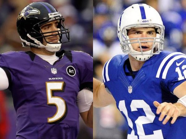 Andrew Luck Joe Flacco