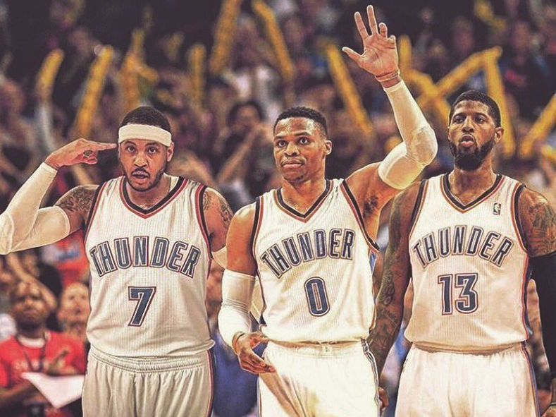 Carmelo-Anthony-Paul-george-Russell-Westbrook-Thunder