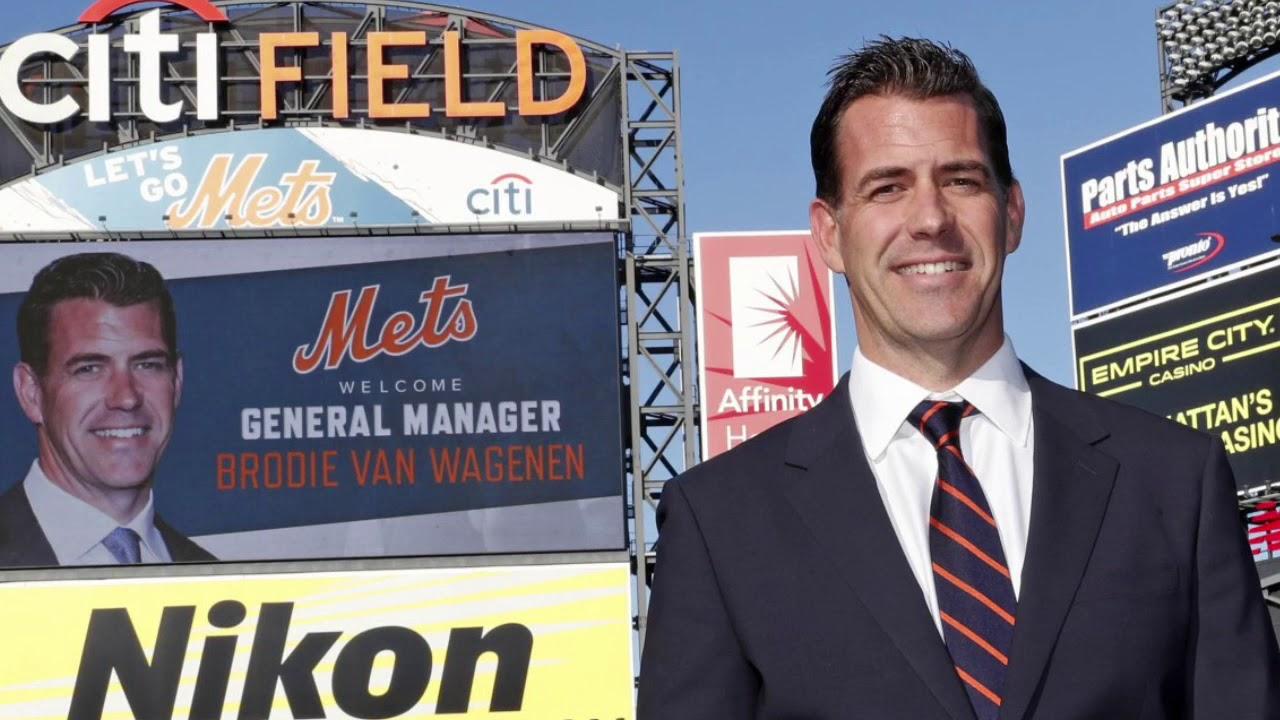 Brodie Van Wagenen new Mets GM
